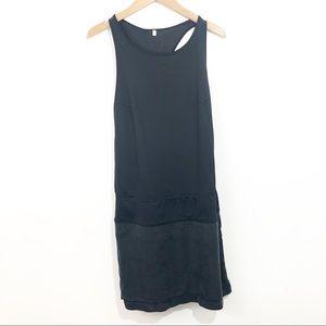 Lululemon Athletic Tennis Dress Solid Black